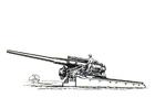 Bilde å fargelegge kanon