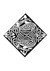 Bilde å fargelegge keltisk motiv