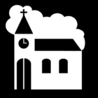 Bilde å fargelegge kirke