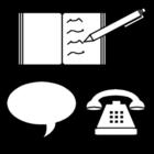 Bilde å fargelegge kommunikasjon
