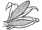 Bilde å fargelegge korn