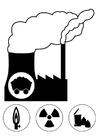 Bilde å fargelegge kraftverk