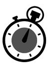 Bilde å fargelegge kronometer