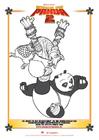 Bilde å fargelegge Kung Fu Panda 2