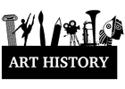 Bilde å fargelegge kunsthistorie