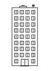 Bilde å fargelegge leilighet
