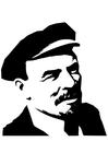 Bilde å fargelegge Lenin