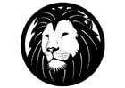 Bilde å fargelegge løve