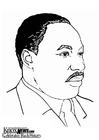 Bilde å fargelegge Martin Luther King Jr