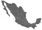 Bilde å fargelegge Mexico