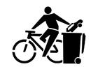 Bilde å fargelegge miljøvennlig transport