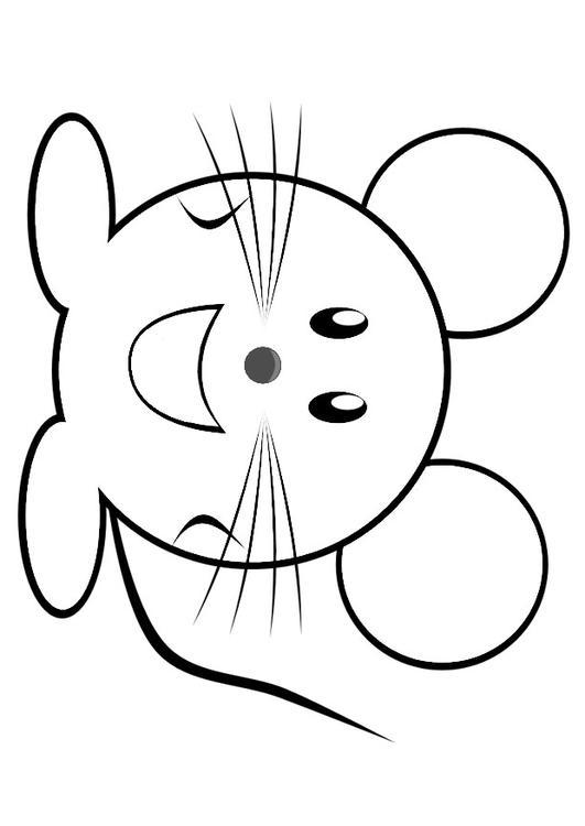 mus tegning