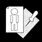 Bilde å fargelegge notatblokk