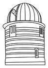 Bilde å fargelegge observasjonstÃ¥rn