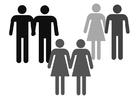 Bilde å fargelegge partnere