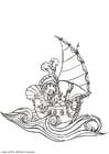 Bilde å fargelegge pirat
