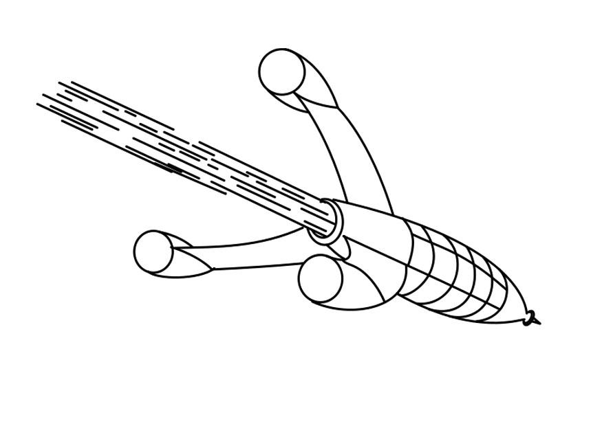 Bilde 229 Fargelegge Rakett Bil 25715