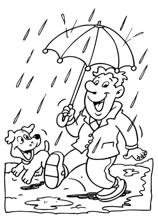 Bilderesultat for tegning av regn