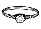 Bilde å fargelegge ring
