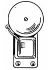 Bilde å fargelegge ringeklokke