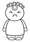 Bilde å fargelegge sint