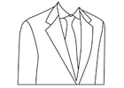 Bilde å fargelegge skreddersydd dress
