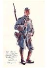 Bilde å fargelegge soldat fra den første verdenskrig