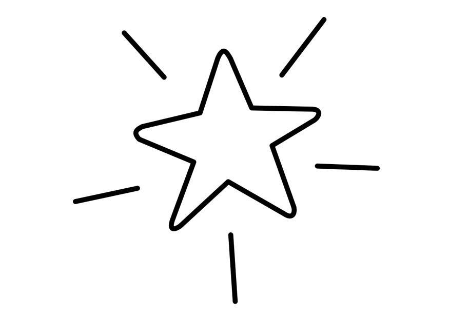 Bilde 229 Fargelegge Stjerne Bil 22742