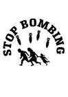 Bilde å fargelegge stopp bombingen