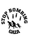 Bilde å fargelegge stopp Gaza-bombingen