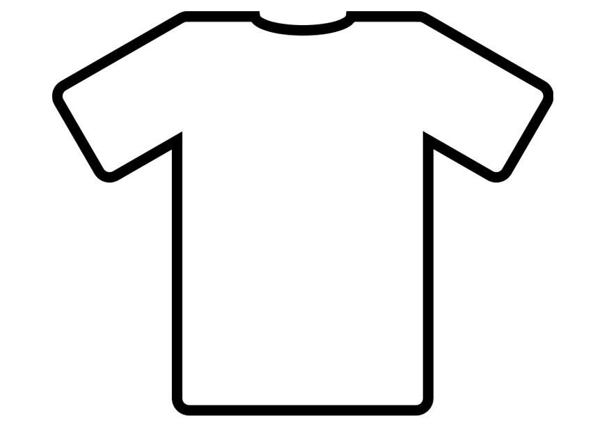 shirt coloring pages - photo#30