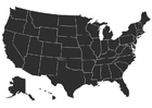 Bilde å fargelegge USA