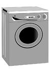 Bilde å fargelegge vaskemaskin
