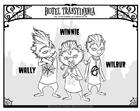 Bilde å fargelegge Winnie - Wally - Wilbur