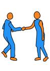 bilde å håndhilse