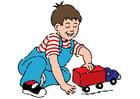 bilde å leke med bilen