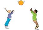bilde å leke med en ball