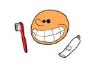 bilde å pusse tennene