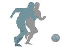 bilde å spille fotball