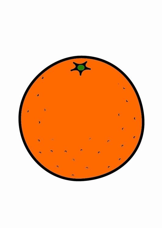 Bilde Appelsin Bil 23206