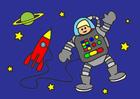 bilde astronaut
