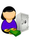 bilde bankfunksjonær