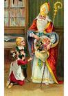 bilde barn med julenissen