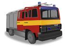 bilde brannbil