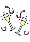 bilde champagne glass