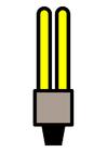 bilde energisparende lyspære