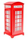 bilde Engelsk telefonkiosk