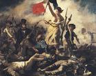 bilde Eugene Delacroix - Friheten leder folket.