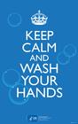 bilde hold deg rolig og vask hendene