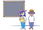 bilde i klasserommet